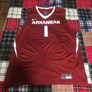 Arkansas men's basketball jersey